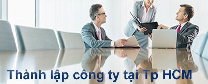 Dịch vụ thành lập công ty tại thành phố Hồ Chí Minh