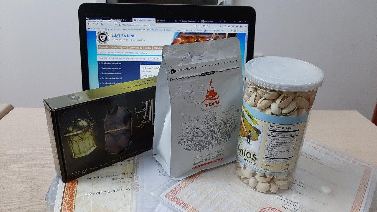 Dịch vụ công bố chất lượng an toàn sản phẩm thực phẩm của Luật Ba Đình