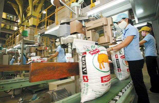 sản xuất thức ăn chăn nuôi sản xuất thức ăn thủy sản