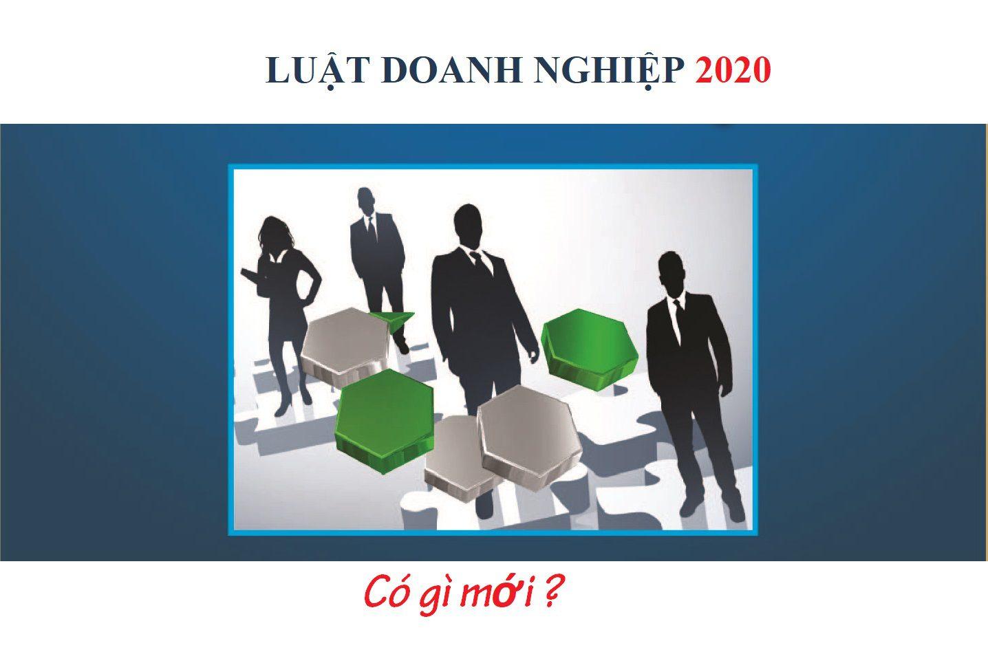 Những điểm mới của Luật doanh nghiệp 2020