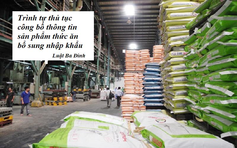 Trình tự thủ tục công bố thức ăn chăn nuôi nhập khẩu