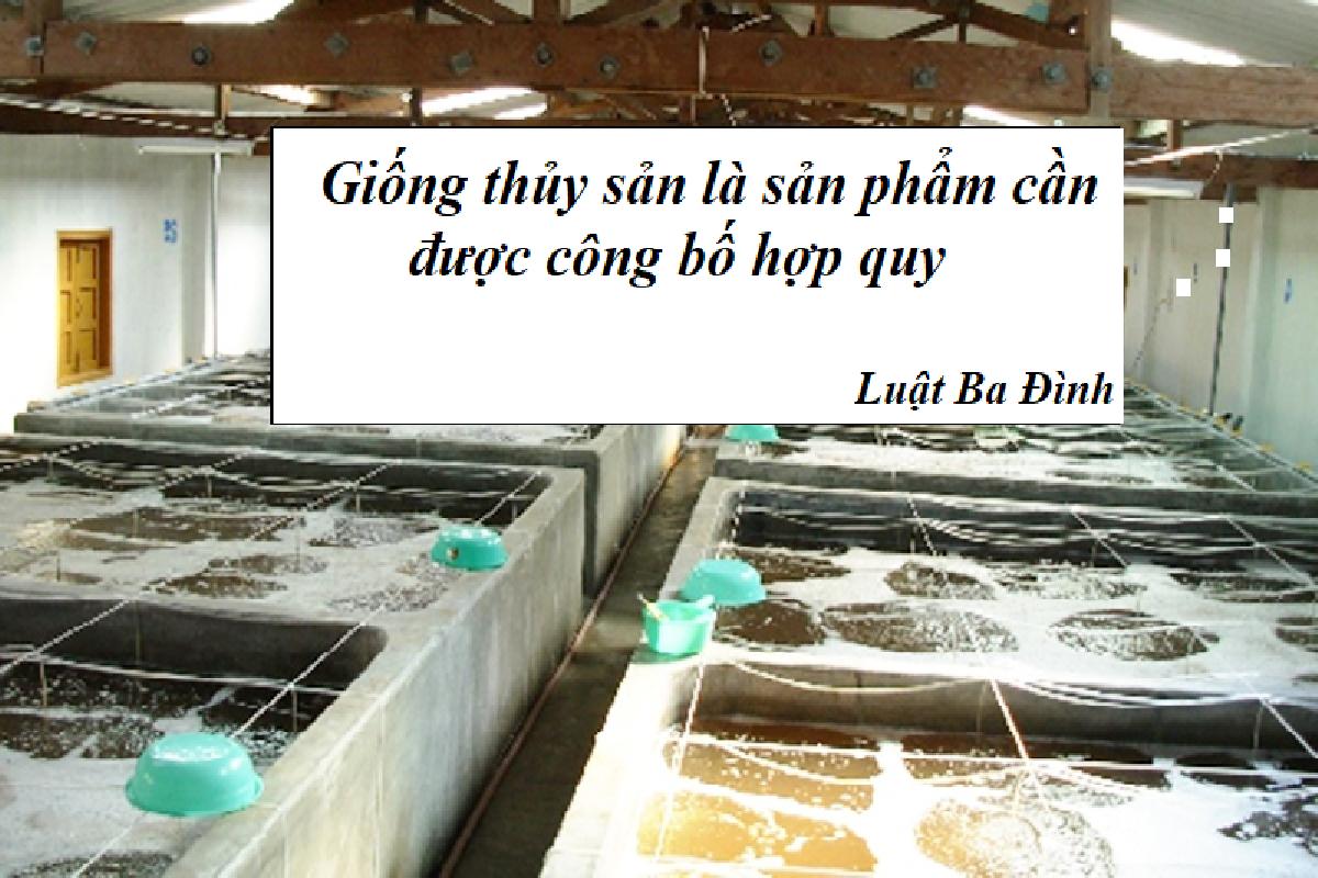 sản phẩm cần công bố hợp quy thuộc Bộ nông nghiệp và phát triển nông thôn
