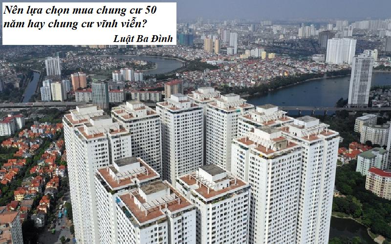 Nên lựa chọn mua chung cư 50 năm hay chung cư vĩnh viễn?