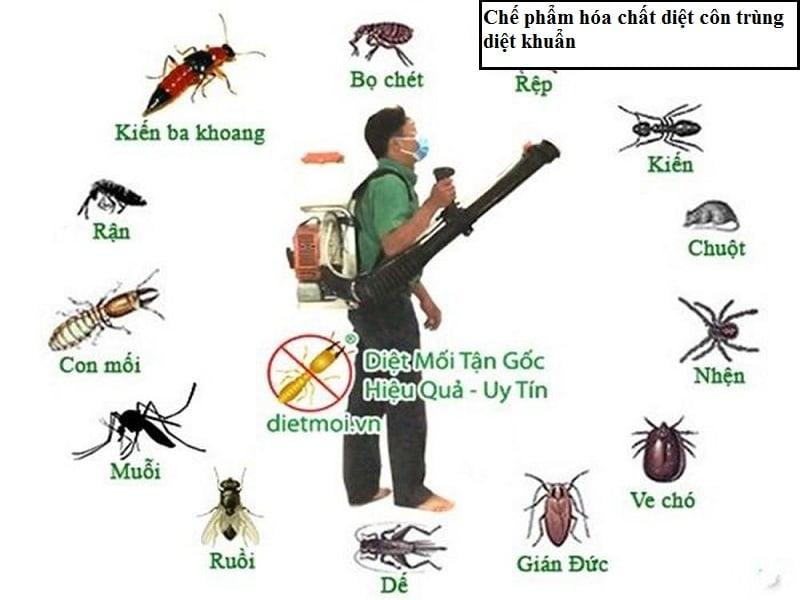Tư vấn thủ tục đăng ký lưu hành hóa chất, chế phẩm diệt khuẩn, diệt côn trùng