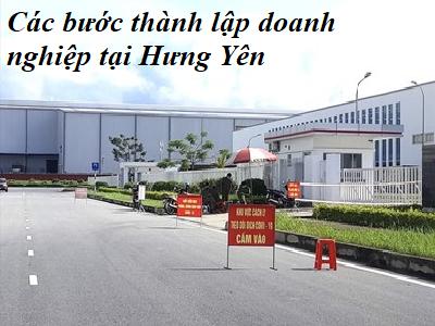 Các bước thành lập doanh nghiệp tại Hưng yên