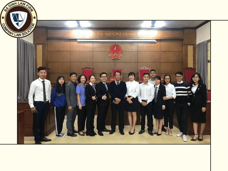 Đội ngũ nhân viên Luật Ba Đình