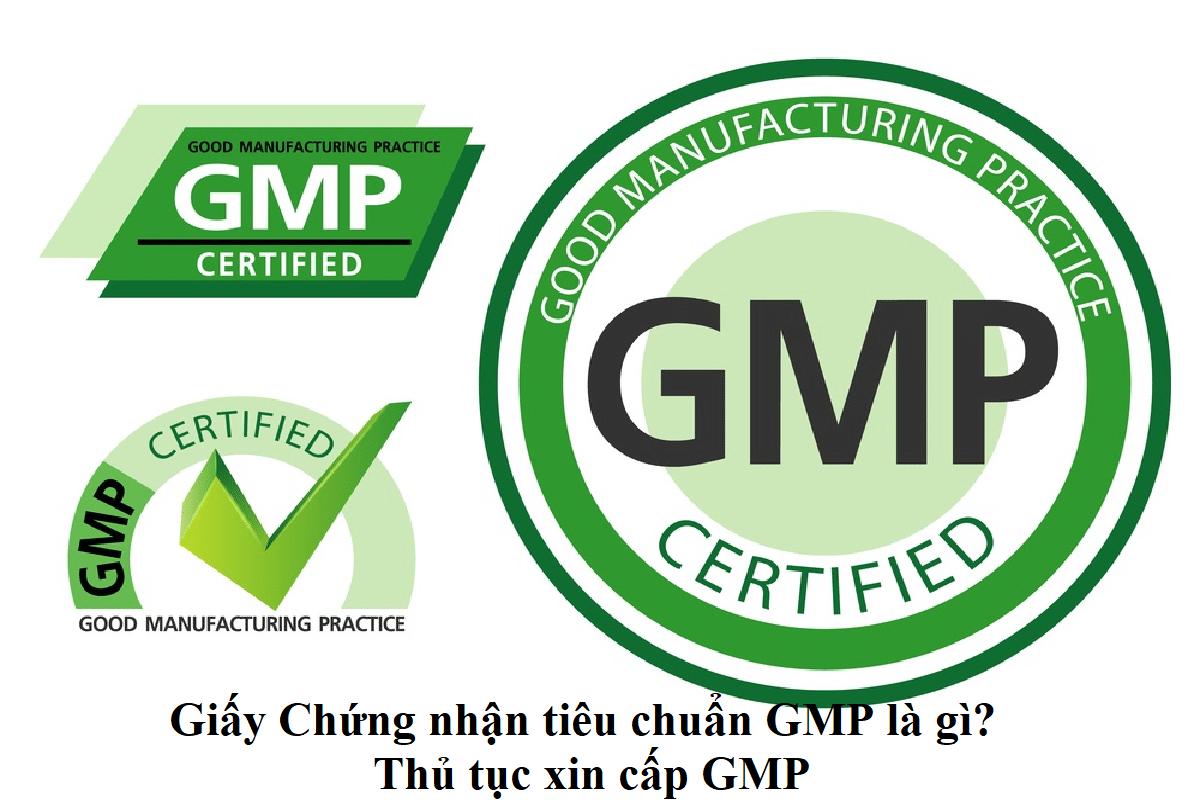 Giấy Chứng nhận tiêu chuẩn GMP là gì?